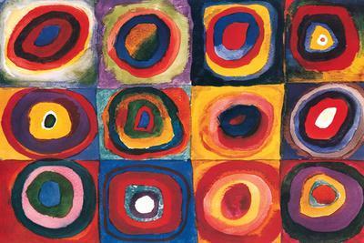 Color Study Squares