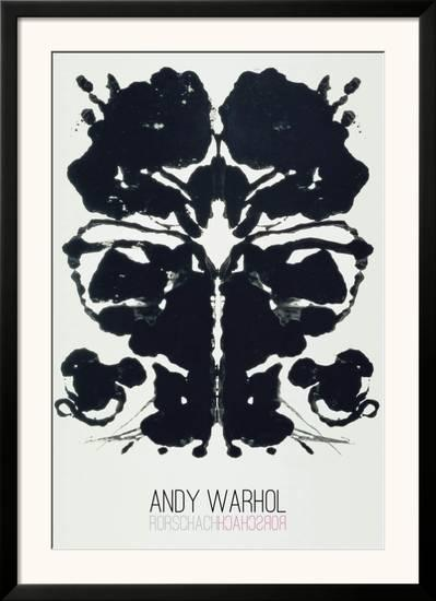 rorschach poster by andy warhol at allposters com