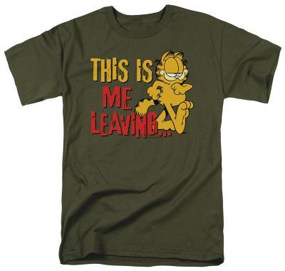Garfield - Leaving