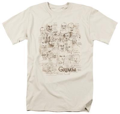 Grimm - Wesen Sketches