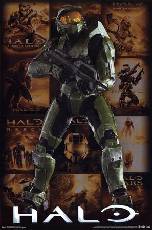 Halo - Key Art Grid