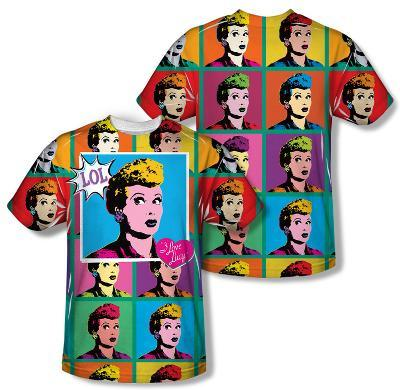 I Love Lucy - Lol (Front/Back Print)