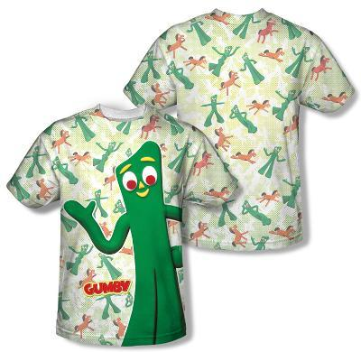 Gumby - Friendly Greeting (Front/Back Print)
