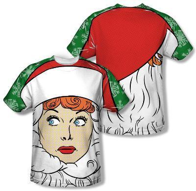 I Love Lucy - Secret Santa (Front/Back Print)