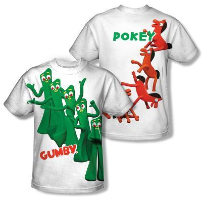 Gumby - Moves (Front/Back Print)