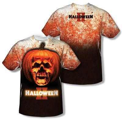Halloween II - Pumpkin Skull (Front/Back Print)