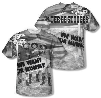The Three Stooges - Tunis 1500 (Front/Back Print)