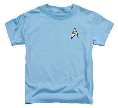Toddler: Star Trek - Science Uniform