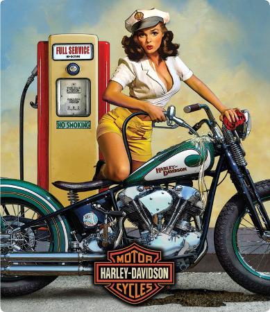 Harley Davidson Full Service Sign