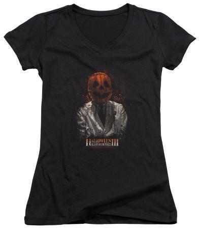 Juniors: Halloween III - H3 Scientist V-Neck