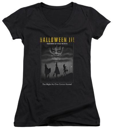 Juniors: Halloween III - Kids Poster V-Neck