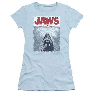 Juniors: Jaws - Graphic Poster