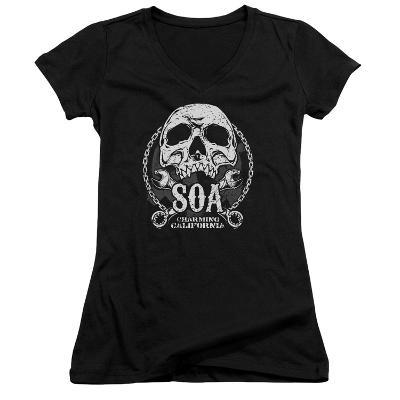 Juniors: Sons Of Anarchy - SOA Club V-Neck