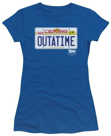 Juniors: Back To The Future - Outatime Plate