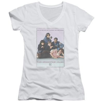 Juniors: The Breakfast Club - BC Poster V-Neck