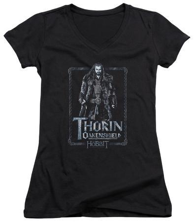 Juniors: The Hobbit: An Unexpected Journey - Thorin Stare V-Neck