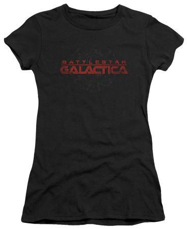 Juniors: Battlestar Galactica - Battered Logo