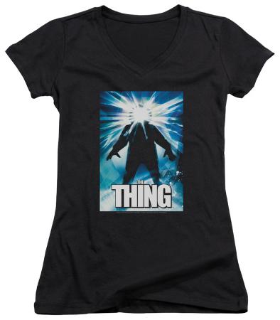 Juniors: The Thing - Poster V-Neck