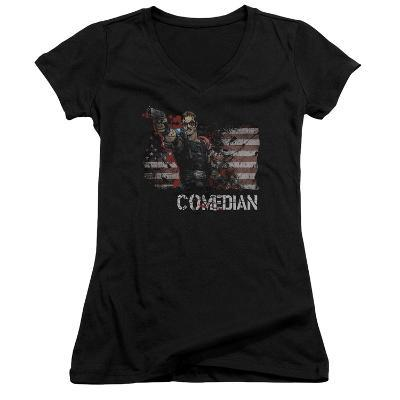 Juniors: Watchmen - Comedian V-Neck