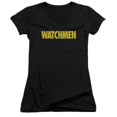 Juniors: Watchmen - Logo V-Neck