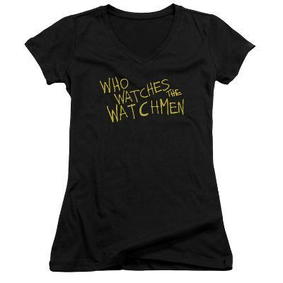 Juniors: Watchmen - Who Watches V-Neck