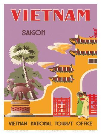 Vietnam, Saigon (Ho Chi Minh City), Vietnam National Tourist Office