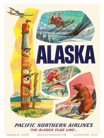 Alaska USA, The Alaska Flag Line, Pacific Northern Airlines