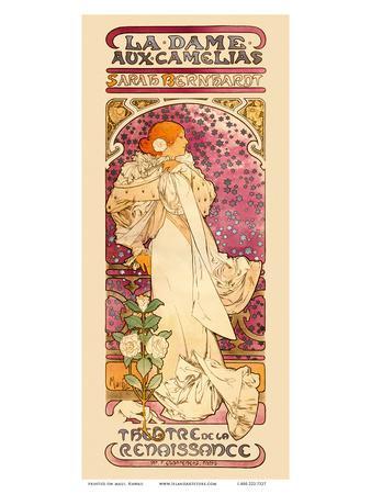 La Dame aux Came?lias Art Nouveau, La Belle Époque