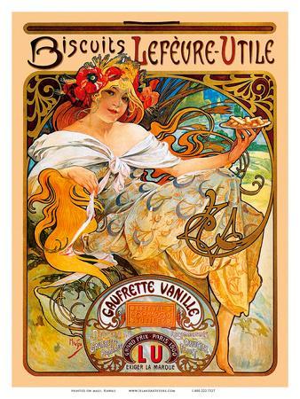 Biscuits, Art Nouveau, La Belle Époque