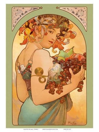 Fruit, Art Nouveau, La Belle Époque