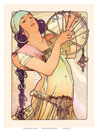 Gypsy, Art Nouveau, La Belle Époque