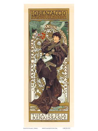 Lorenzaccio, Art Nouveau, La Belle Époque
