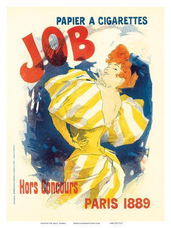 Job Paris, Art Nouveau, La Belle Époque