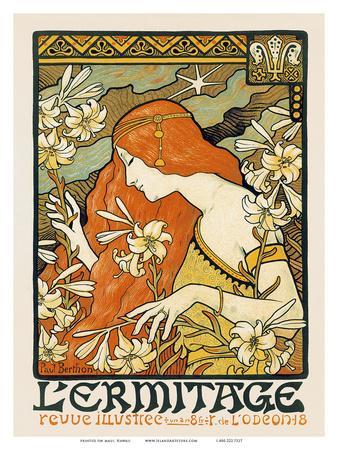 L'ermitage, Art Nouveau, La Belle Époque