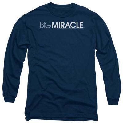 Long Sleeve: Big Miracle - Logo