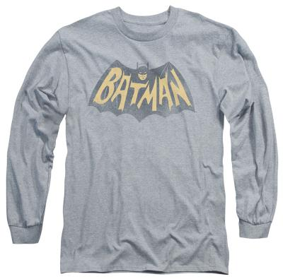 Long Sleeve: Batman Classic TV - Show Logo