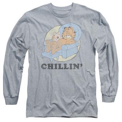 Long Sleeve: Garfield - Chillin