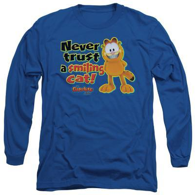 Long Sleeve: Garfield - Smiling