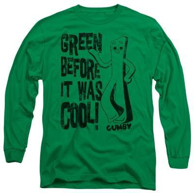 Long Sleeve: Gumby - Cool Green