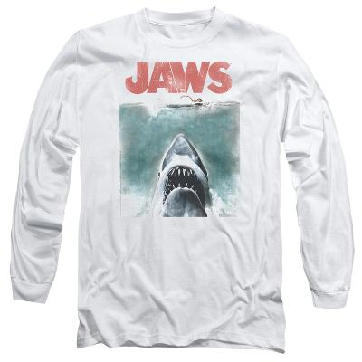 Long Sleeve: Jaws - Vintage Poster