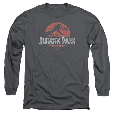 Long Sleeve: Jurassic Park - Faded Logo