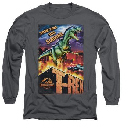 Long Sleeve: Jurassic Park - Rex In The City