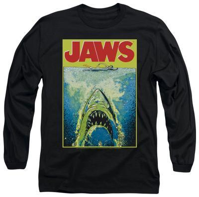 Long Sleeve: Jaws - Bright Jaws