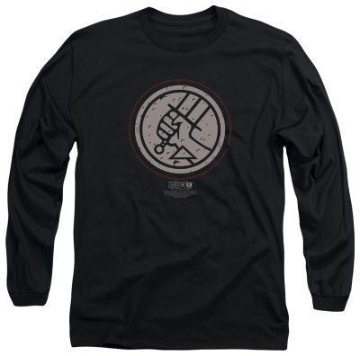 Long Sleeve: Hellboy II - Mignola Style Logo