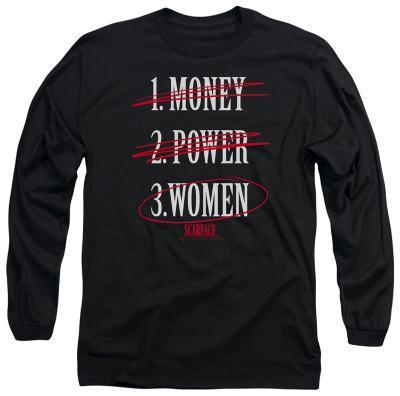 Long Sleeve: Scarface - Money Power Women