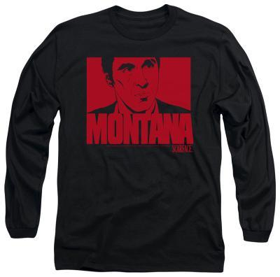 Long Sleeve: Scarface - Montana Face