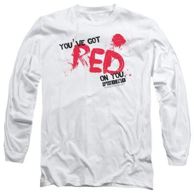 Long Sleeve: Shaun Of The Dead - Red On You