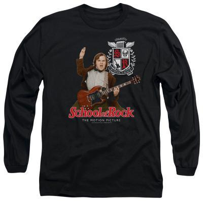 Long Sleeve: School Of Rock - The Teacher Is In