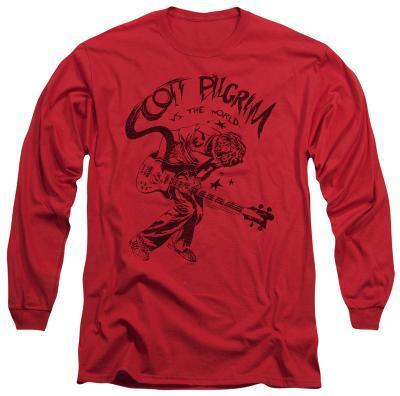 Long Sleeve: Scott Pilgrim - Rockin