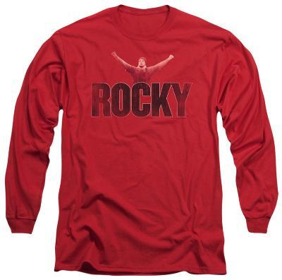 Long Sleeve: Rocky - Victory Distressed